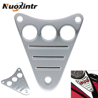NUOXINTR Motorcycle Parts CNC Dash Plaque Cover Dashboard decoration For Kawasaki Vulcan EN500A VN800A Classic VN800