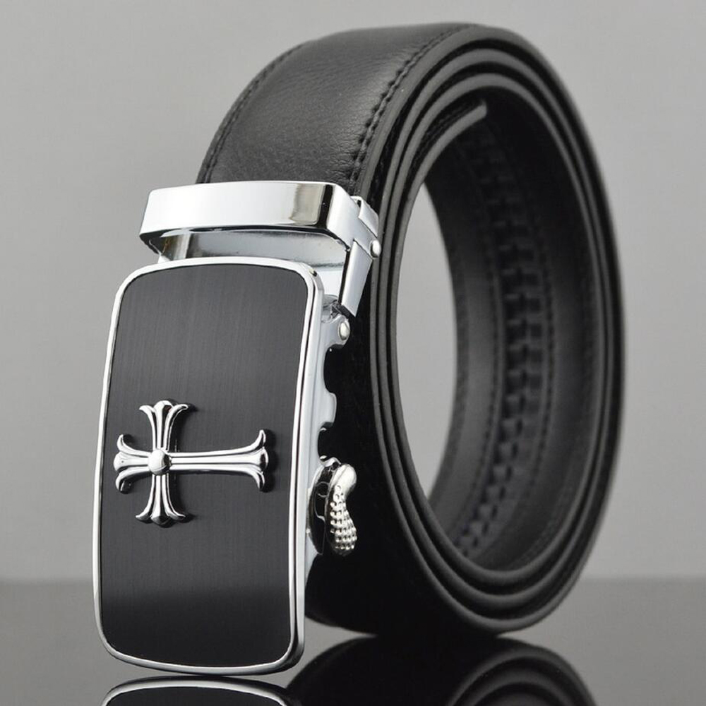 [Veroseice] Hot Sale Mixed Styles Real Leather Auto Buckle s