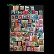 100 Uds sellos antiguos/Vintage antes de 1950 de la colección mundial