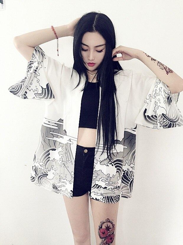 HTB1uSo5JVXXXXXlaXXXq6xXFXXXN - Vintage novelty summer dragon chiffon women clothing