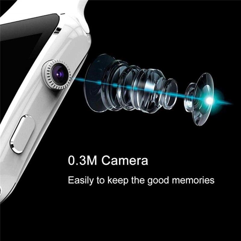 Bluetooth X6 Смарт-часы для мужчин с камерой сенсорный экран наручные Смарт-часы для Android IOS Телефон спортивные Смарт-часы для женщин Sim карта