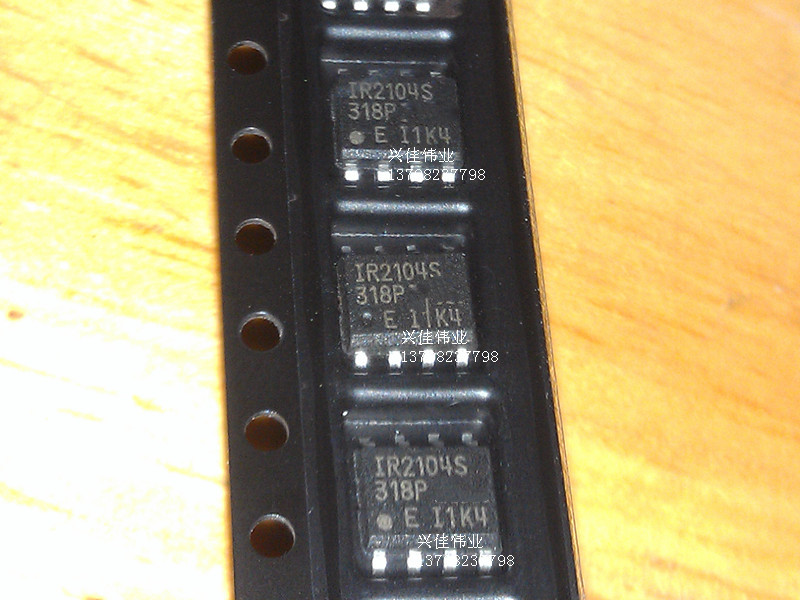 <font><b>10PCS</b></font> The new <font><b>IR2104S</b></font> IR2104STR SOP8 SMD bridge driver driver chip image