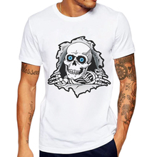 T Shirt Men Brand 2019 New Fashion O-Neck Mens Cotton Short Sleeve Tops Creative 3D Skull Printing Tees Camisetas Masculina