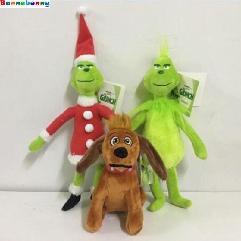 Hot Movie How the Grinch Stole Christmas Grinch Doctor Seuss Cartoon Cute Stuff Plush Toy Doll Children Birthday Gift цены онлайн