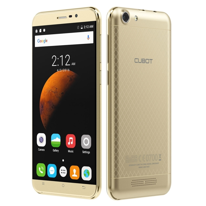Цена за Оригинал CUBOT Динозавров 16 ГБ ROM 3 ГБ RAM 4 Г 5.5 дюймов IPS Экран Android 6.0 MT6735 Quad Core 4150 мАч Батареи OTG Смартфон