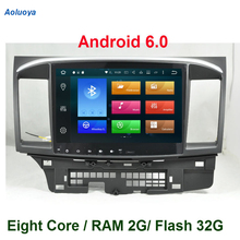 Eight Core Android 6.0 CAR DVD GPS Player For Mitsubishi Lancer 2008-2010 2011 2012 2013 2014 2015 car Radio multimedia WIFI 3G