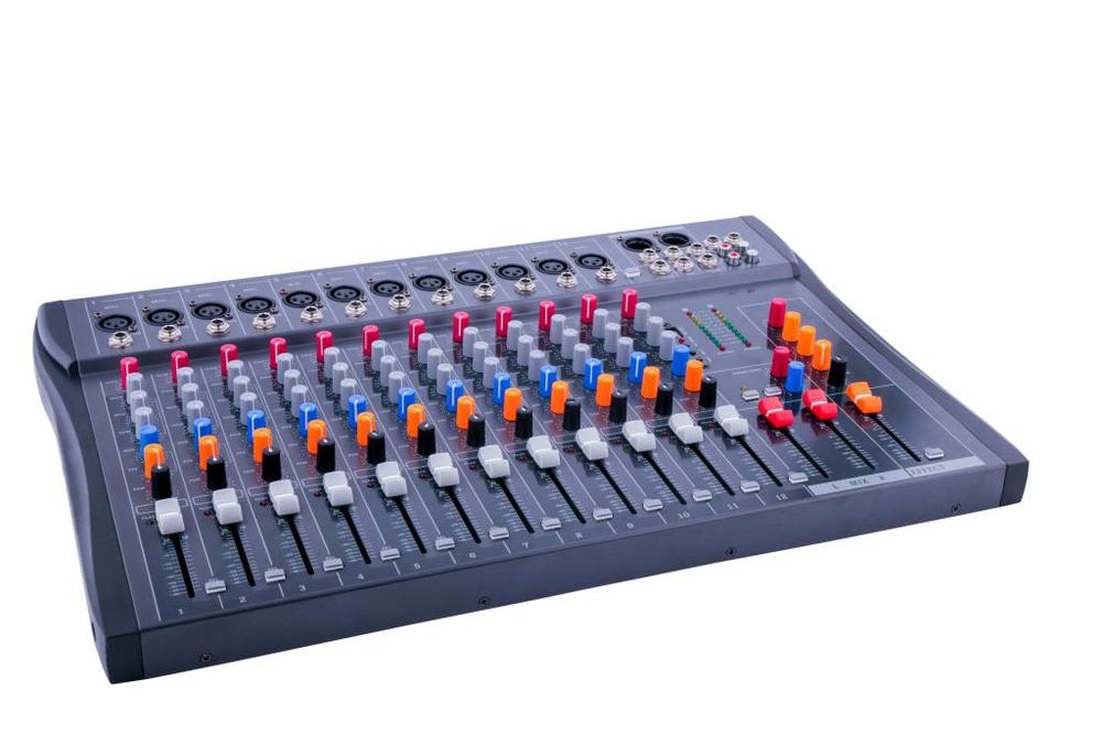 Upgraded version CT120S-USB / 12-channel dj mixer professional amplifier mixer audio mixer karaoke mixer mixing console professional pmx402d usb 4 channel powered dj mixer power mixing amplifier amp usb