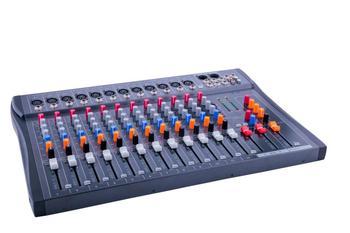 Upgraded version CT120S-USB / 12-channel dj mixer professional amplifier mixer audio mixer karaoke mixer mixing console tkl t12 professional stage 12 channel audio dj mixer bluetooth sound mixer audio karaoke phantom power 48v usb jack