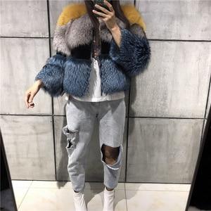 Image 5 - lady fur jacket women real fur jacket natural fur jacket upto 5xl