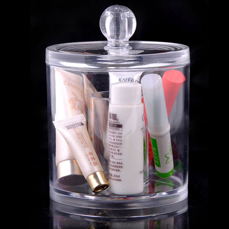 High Quality Acrylic Box Cabinet Cases Cotton Pad Cosmetic Organizer Makeup Perfume Storage Case Jewelry Box for Cotton Pad jakemy multitool jm 6101 magnetic ratchet screwdriver set home repair kit mobile phone tool for iphone laptop electronic tools