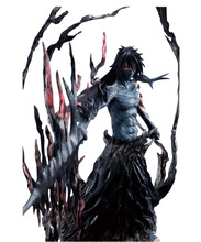 30cm Japanese Anime Garage Kits,Bleach Kurosaki Ichigo 2th Action Figure,The Last of The Getsuga Tenshou Model