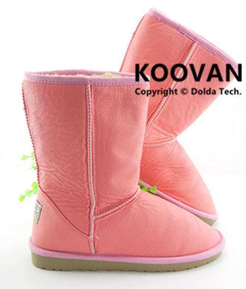 koovan 2017 Winter Classic Keep Warm Women Snow Boots Knee-High Horn Buckles Flat-With Round Toe Ladies Shoes Hot Sale WXP005 doratasia big size 34 43 women half knee high boots vintage flat heels warm winter fur shoes round toe platform snow boots