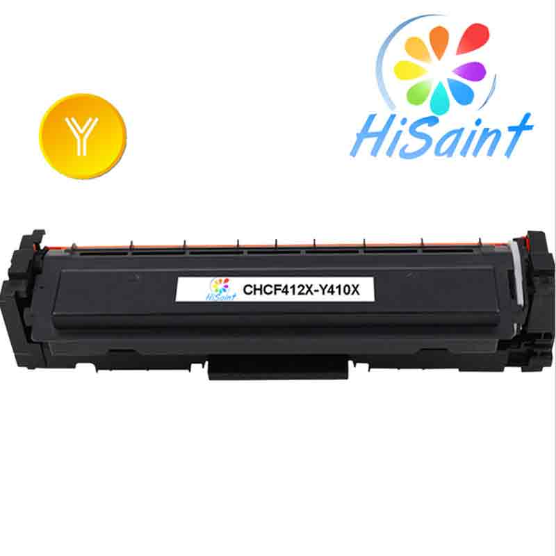 ФОТО Hot Sale [Hisaint] Yellow Toner Compatible for HP Laserjet Pro CF412X M452 dn / dw / nw M470 Tri-Color 5000 pages Free shipping