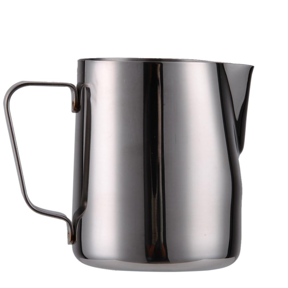 Kök Rostfritt stål Mjölkskumkanna Espresso Kaffekanna Barista Craft Kaffe Latte Mjölkskumkanna Kanna