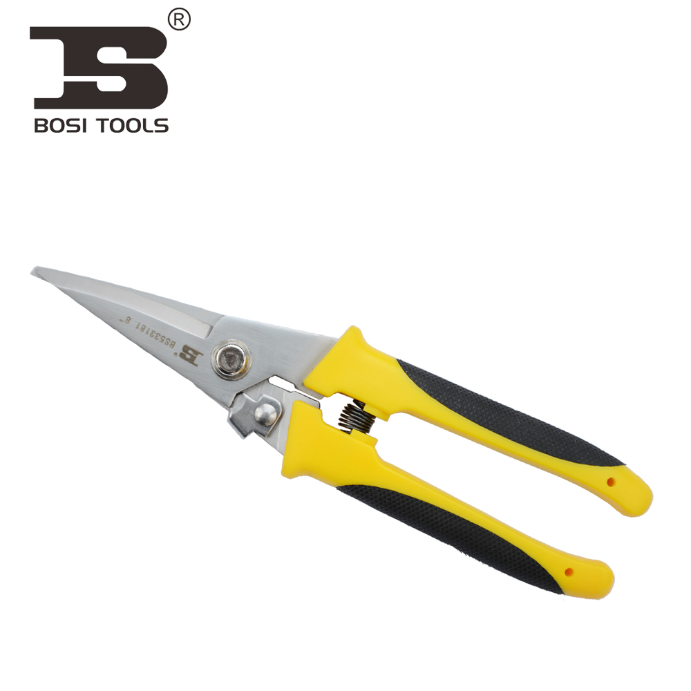 ФОТО BOSI Persian Tools multifunction Snips scissors direct shear bolt cutters branches cut 8 & quot; New BS533181 rasp dremel 2016 T