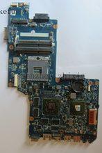 A placa-mãe do portátil para toshiba c850d l850d h000052370 com placa gráfica teste completo