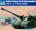 Trumpeter 1/35 00324 British 155mm AS-90 Self-Propelled Howitzer plastic model kit