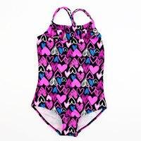 ملابس سباحة جميلة للبنات طقم سباحة مكون من قطعة واحدة ملابس سباحة للبنات ملابس شاطئ للأطفال بدل استحمام بكيني للأميرة على شكل مثلث سيامي بدلات أطفال قطعة واحدة    -