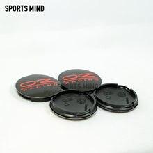 4 X czarny czerwony M595 62 MM OZ Racing środek koła samochodowego czapki stop elegancki trudno sobie w celu uzyskania osłona przeciwpyłowa