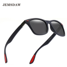 JEMSDAW 2019 The latest polarizing sunglasses brand design anti-ultraviolet glasses for men and women  UV400