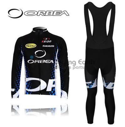 ORBEA #3 2011 long sleeve autumn bib cycling wear clothes bicycle bike riding cycling jersey bib pants breathable maillot set 3d silicone cube 2012 team long sleeve autumn bib cycling wear clothes bicycle bike riding cycling jerseys bib pants set