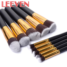 8or10/Set 3 Colors Professional Cosmetics Makeup Brushes Eyebrow Eyes Concealer Pinceies Brush Set High Quality