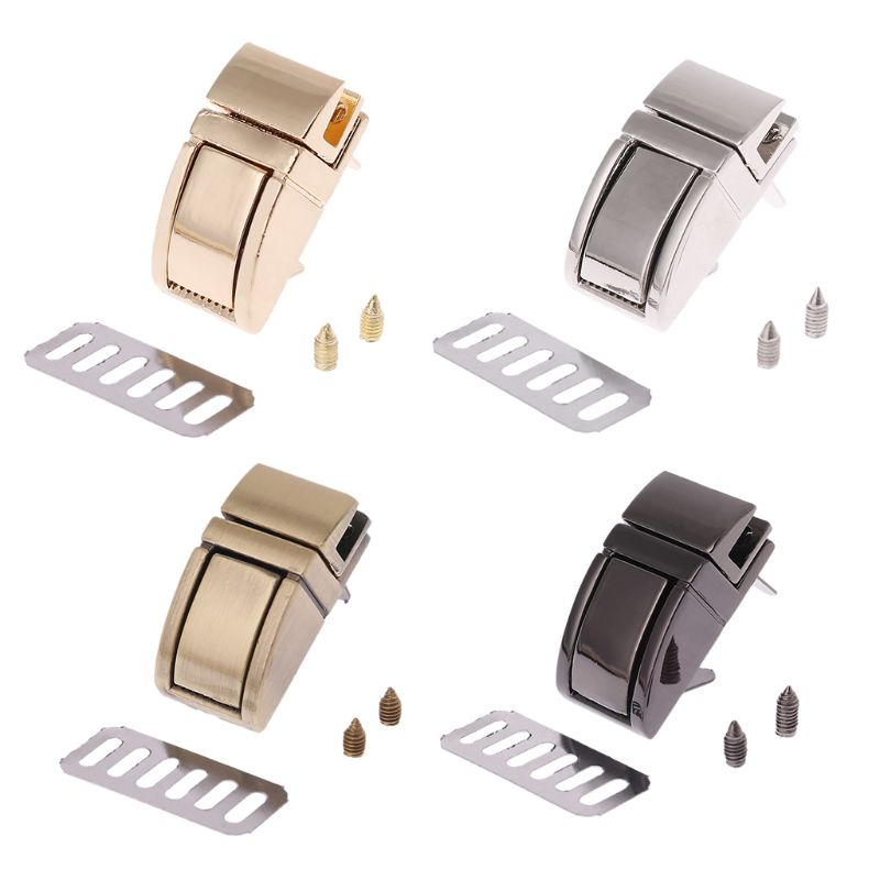 2.8x2.8cm DIY Metal Clasp Turn Lock Twist Locks Handbag Shoulder Bag Purse Hardware Bag Accessories Buckle Clip 4 Colors