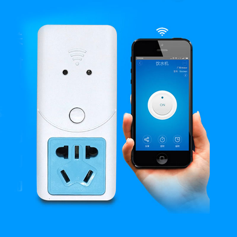 ITEAD S22 Wifi Wireless Socket For Temperature Humidity Sensor Wireless Remote Control Timer Switch Socket Via