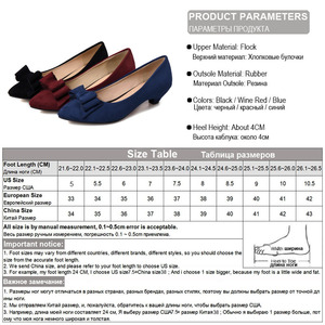 Image 5 - Женские туфли лодочки Phoentin с узлом бабочкой, на каблуке шпильке, винного цвета, с острым носком, без застежки, из искусственной кожи, FT188, весна осень