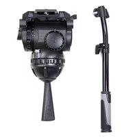 Miliboo M25 наиболее профессиональных жидкости штатива для трансляции перемещение и видео Maker несущей 25 кг
