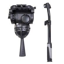 лучшая цена miliboo M25 Most Professional Fluid Tripod Head for Broadcast Moving and Video Maker Load Bearing 25 kg