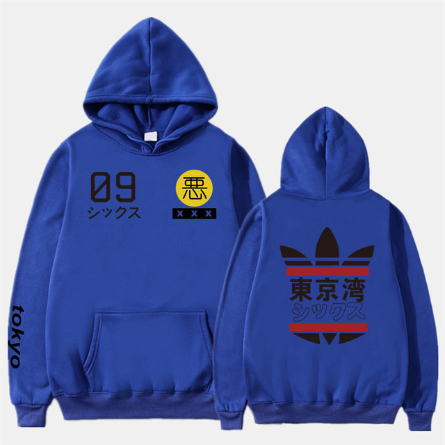 2019 New Men Women Hoodies harajuku Spring Sweatshirts Tokyo Bay Hoodies outwear Fashion Rubber powder Hip-Hop boys Clothes  5