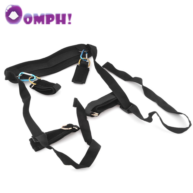 Oomph! New Fetish Erotic Toys Ankle Hand Restraints Slave Bondage set Sex Toys for Couples Sex Furniture