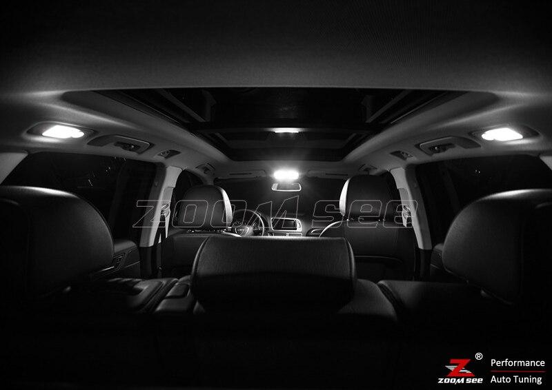 14 шт. X canbus Error free светодиодный внутренний свет комплект посылка для Audi Q5(2009