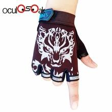 Г., популярные спортивные перчатки для детей, митенки Детские Мультяшные перчатки без пальцев для мальчиков и девочек от 5 до 13 лет