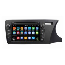 8Inch Quad Core HD1024*600 Android 5.1 Car DVD Player For Honda For CITY 2014 Right Stereo Multimedia Player Free 8GB MAP Card