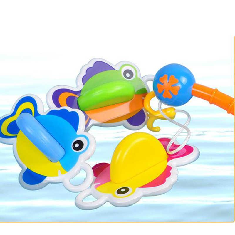 Juguetes de agua para bebés, juguetes de baño de animales, juguetes educativos para bebés, juegos de pesca, juguetes populares