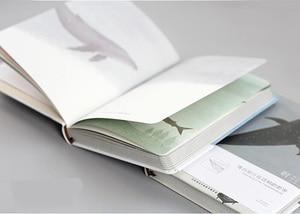 "Image 5 - ""혼자 여행"" 저널 일기 하드 커버 노트 빈 아트 논문 일일 플래너 연구 의제 메모장 Statioinery 선물"