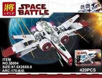Star Wars Captain Jag Clone Pilot R4 P44 ARC 170 Fighter Assemble Bricks Building Blocks Collection