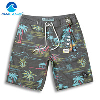 Gailang Brand Men New Shorts Beach Man Quick Drying Shorts Swimwear Swimsuits Board Shorts Trunks Casual