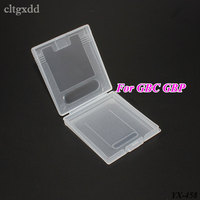 Cltgxdd 100PCS Plastic Cases Game Cards Storage Box Cartridge For Gameboy Pocket For GB GBC GBP Protector Holder Cover Shell
