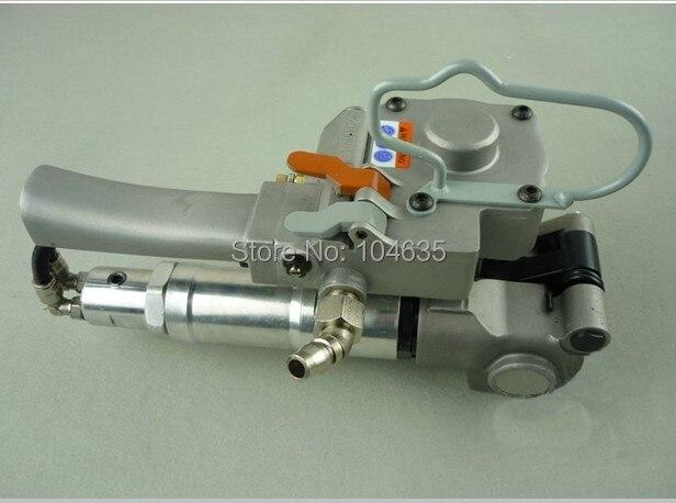 Factory Le Plus Bas Prix XQD/AQD-19 Pneumatique de Cerclage Cerclage Tendeur Scellant De Soudage Machine D'emballage pour 13-19mm PET/PP