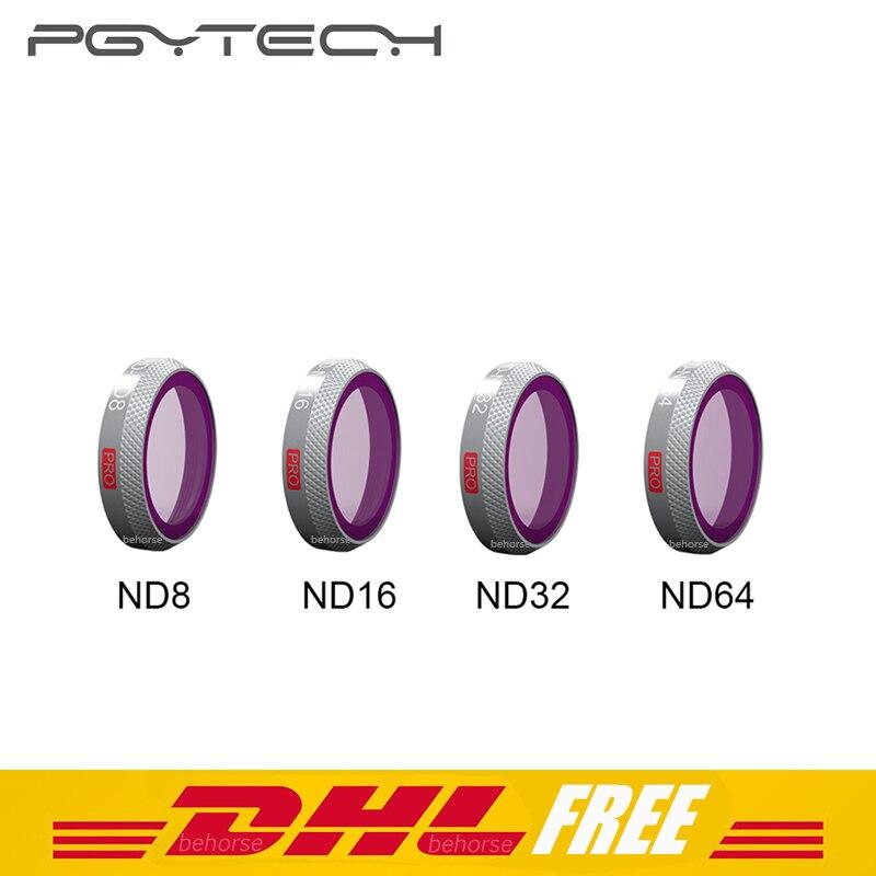 4 pièces PGYTECH Mavic 2 Zoom Filtres ND8/ND16/ND32/ND64 Camera Lens Kit Set pour DJI mavic 2 Zoom Drone Accessoires