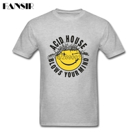 Acid House Blows Your Mind Men Tshirt Tailored T Shirts For Men Short Sleeve O Neck