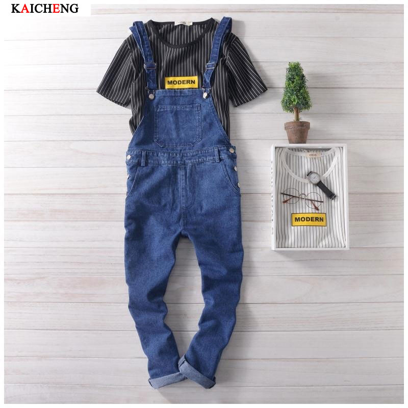 Spring Summer Style Fashion Brand Casual Mens Denim Overalls Jumpsuit , Male Stylish Unique Jeans Jumpsuits Bib Pants For Man  2016 spring autumn fashion brand mens slim jeane overalls casual bib jeans for men male ripped denim jumpsuit