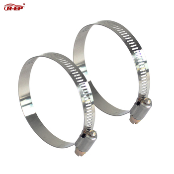 1PCS 304 Stainless Steel Clamp High Quality Screw Worm Drive for Hose 6mm 12mm 22mm 57mm 63mm 76mm 89mm 101mm Pipes Clip image