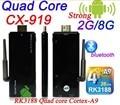 Quad Core CX919 Android 4.4 TV Stick with XBMC DLAN External WiFi Antenna Bluetooth 4.0 1080P Mini PC Box tv Dongle