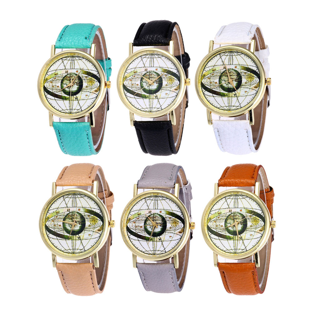 Watches Fashion Planets Of Solar System Design Pocket Watch Men Women High Quality Watches Gift For Astronomer P1173 Fast Color