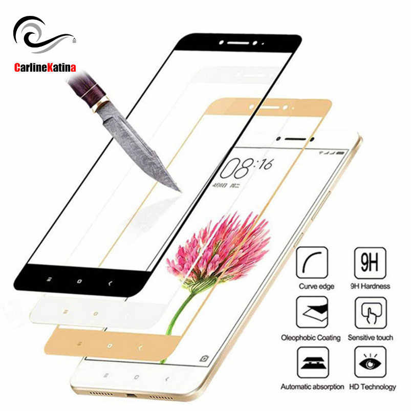 Full Cover Tempered Glass For Xiaomi Redmi 4X 5 Redmi Note 4 Redmi 5A 4A Redmi 5 plus Screen Protector Toughened Film Case Bag