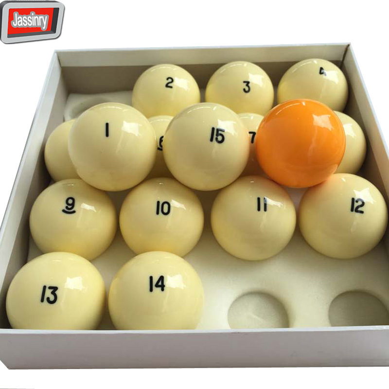 16pcs 68mm Russian Billiard Complete Set of Balls High quality resin Pool balls Billiards Accessories